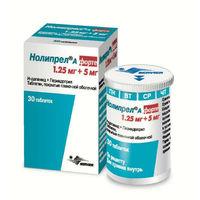 Нолипрел А форте таблетки 5+1,25 мг 30 шт.