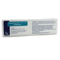 Нордитропин НордиЛет шприц-ручка 10мг/1,5мл