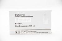 Нормакс таблетки 400 мг, 6 шт.