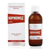 Нормомед сироп 50 мг/мл 180 мл