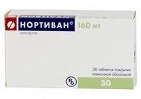 Нортиван таблетки 160 мг, 30 шт.