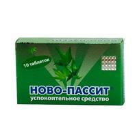 Ново-пассит таб. п/о плёночной 200мг №10