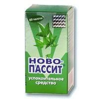 Ново-пассит таб. п/о плен. 357,5мг №60