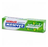 Новый Жемчуг Зубная паста Зелёное яблоко+отбеливание 100мл