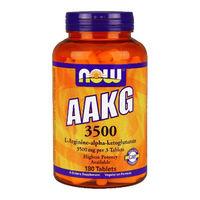 Now AAKG ААКГ- L-Аргинин-альфа-кетоглюкорат 3500 таблетки 180 шт.