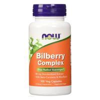 Now Bilberry Complex Черника комплекс 80 мг капсулы вегетарианские 100 шт.