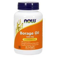 Now Borage Oil Масло бурачника 1000 мг желатиновые капсулы 60 шт.