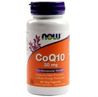 Now CoQ10 Коэнзим Q10 30 мг капсулы 60 шт.