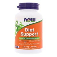 Now Diet Support Поддержка диеты капсулы вегетарианские 120 шт.