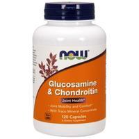 Now Glucosamine & Chondroitin Глюкозамин и Хондротин с минералами капсулы 120 шт.