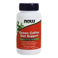 Now Green Coffee Diet Support Зеленый кофе капсулы вегетарианские 90 шт.