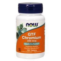 Now GTF Chromium ГТФ Хрома пиколинат 200 мкг таблетки 100 шт.