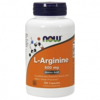 Now L-Arginine L-Аргинин 500 мг капсулы 100 шт.