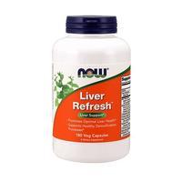Now Liver Detoxifier and Regenerator Ливер Рефреш капсулы вегетарианские 180 шт.
