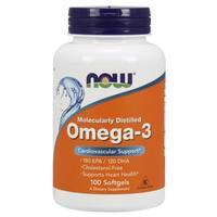 Now Omega-3 Омега-3 1000 мг желатиновые капсулы 100 шт.