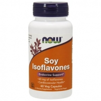 Now Soy Isoflavones Изофлавоны сои 150 мг капсулы вегетарианские 60 шт.