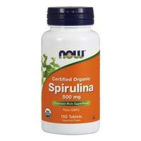 Now Spirulina Спирулина 500 мг таблетки 100 шт.