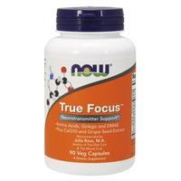 Now True Focus Активатор внимания капсулы вегетарианские 90 шт.