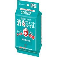 NP Влажные дезенфицирующие полотенца Crecia Scottie WetGuard без запаха 70шт