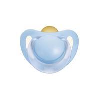 Nuk Baby Blue Пустышка для сна с кольцом латекс р. 1 1 шт.