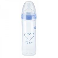 Nuk First Choice New Classic Бутылочка с силиконовой соской средний поток арт.855240 р.1 240 мл