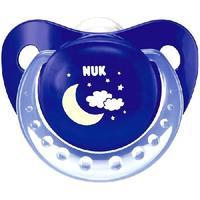 Nuk Night и Day соска-пустышка ортодонтическая силикон 6-18 мес р.2 1 шт.