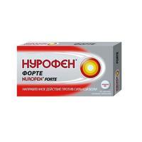 Нурофен форте таблетки обезболивающие 400 мг, 12 шт.