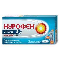 Нурофен Лонг таблетки обезболивающие 200 мг+500 мг 12 шт.