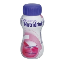 Нутридринк бутылочка, 200 мл клубника