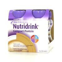 Нутридринк Компак с пищевыми волокнами бутылочки, 125 мл кофе, 4 шт.