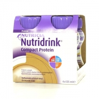 Нутридринк Компакт Протеин бутылочка, 125 мл кофе