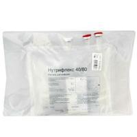 Нутрифлекс 40/80 раствор для инфузий 1000 мл контейнер сдвоенный 5 шт.