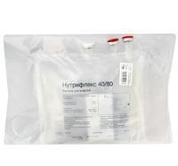 Нутрифлекс 40/80 раствор для инфузий 2000 мл контейнер сдвоенный 5 шт.