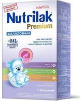 Нутрилак Безлактозный Плюс специальная молочная смесь 0-12 мес. 350г