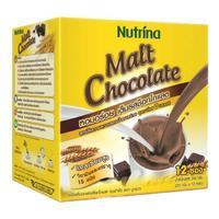 Nutrina Instant Malt Chocolate напиток растворимый Тающий шоколад 20 г саше 12 шт.