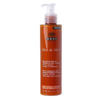 Nuxe Reve de Miel гель очищающий для снятия макияжа для сухой и чувствствительной кожи 200 мл