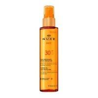 Nuxe Sun масло нежное тонирующее для лица и тела с высок.степ. защиты SPF30 150 мл