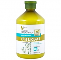 O Herbal Бальзам-кондиционер для сухих волос 500 мл