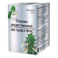 Очанки лекарственной экстракт-ВИС капсулы 0,4 г 40 шт.