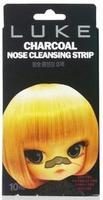 Очищающие угольные полоски от черных точек Hanwoong Luke Charcoal Nose Cleansing Strip 10шт