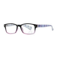 Очки корригирующие для чтения +1,0 черно-фиолетовые с градиентом пластик 1 шт.