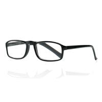 Очки корригирующие для чтения+2,5 черные глянцевые 1 шт.