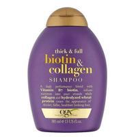 OGX Шампунь для лишенных объема и тонких волос с биотином и коллагеном 385 мл
