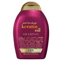 OGX Шампунь против ломкости волос с кератиновым маслом 385 мл