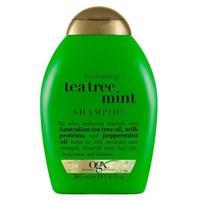 OGX Увлажняющий Шампунь с Маслом чайного дерева и Ментолом 385мл