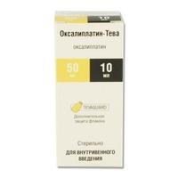Оксалиплатин-Тева конц. для р-ра для инфузий 5 мг/мл 40 мл флакон 1 шт.