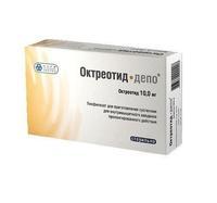 Октреотид-депо флакон, 10 мг