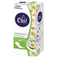 Ola! Прокладки ежедневные Daily Солнечная ромашка 20шт
