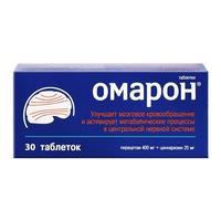 Омарон таб. 400 мг+25мг №30