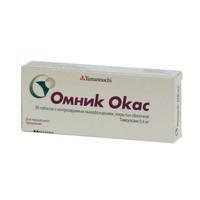 Омник Окас таблетки покрыт.об.с контр.высв. 0,4 мг, 30 шт.